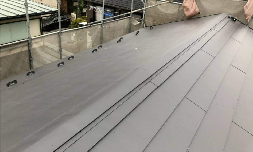 東京都荒川区の屋根葺き替え工事
