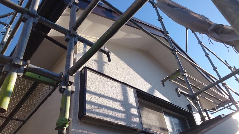 外壁塗装の後の様子