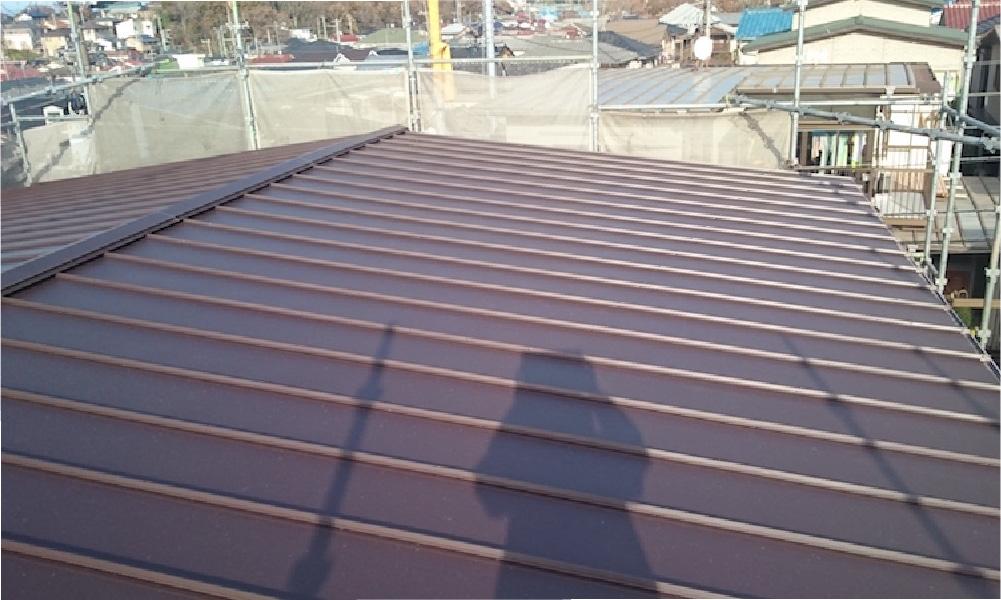 千葉市の屋根葺き替え工事