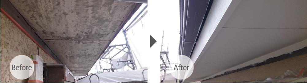 千葉市の外壁雨漏り修理のビフォーアフター