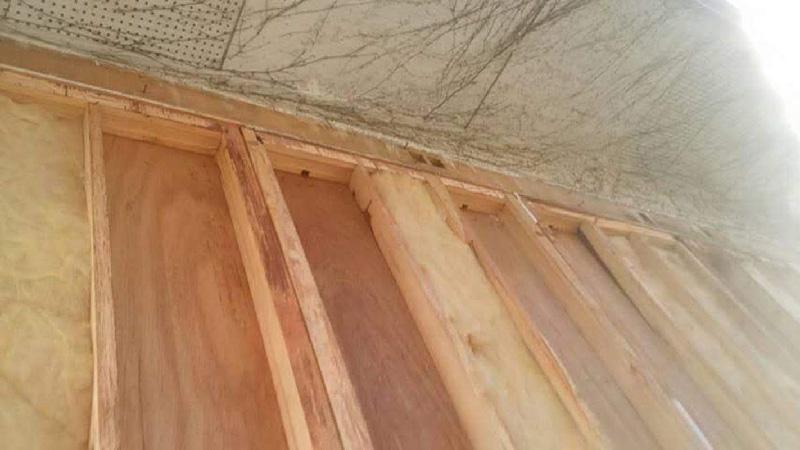 屋根の躯体の補修
