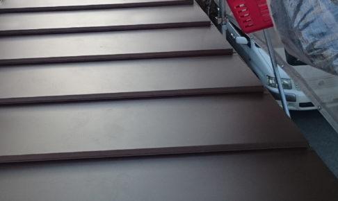 荒川区の下屋根の葺き替え工事
