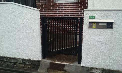 船橋市の門扉の交換工事