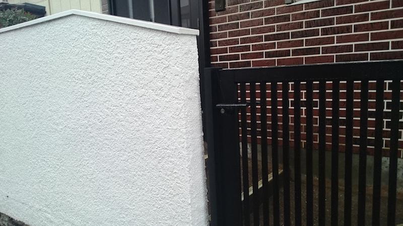 船橋市の門扉の交換工事のビフォーアフター