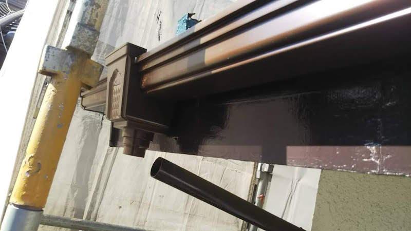 雨樋本体の設置