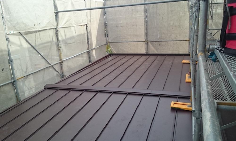 東京都北区の屋根葺き替え工事
