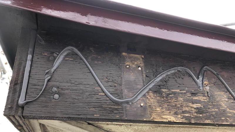 破風板金工事