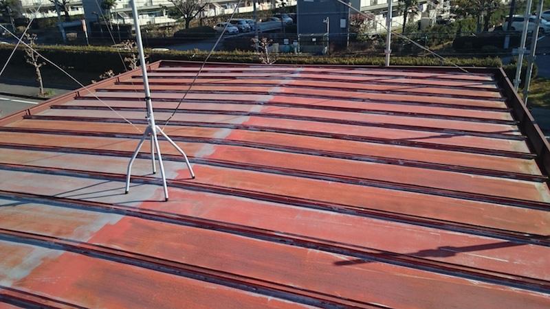 錆の発生したトタン屋根