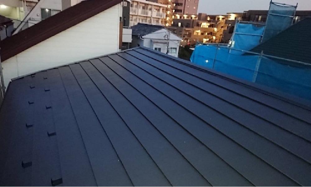 葛飾区の屋根カバー工法