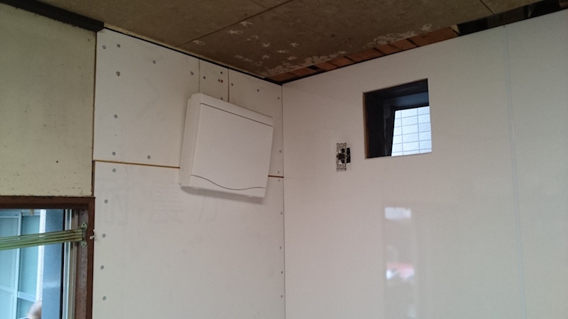耐震壁の設置