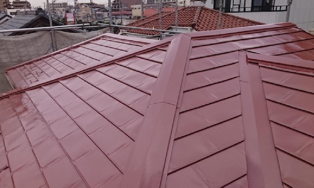 船橋市の屋根塗装工事