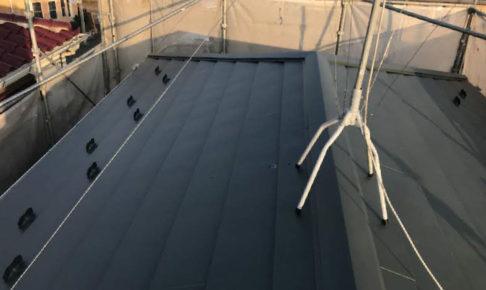 川崎市の屋根葺き替え工事
