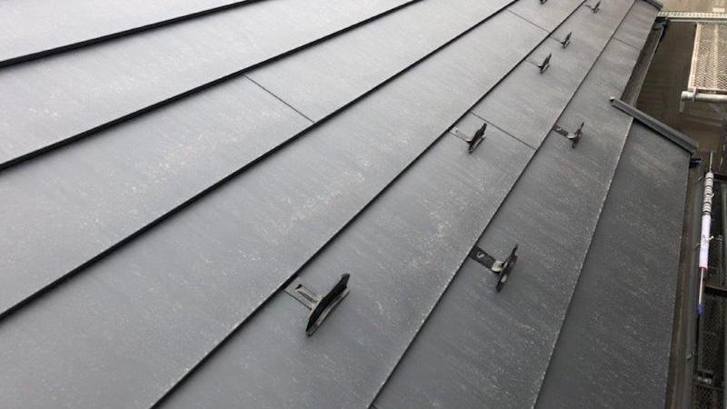 屋根カバー工法施工後の様子