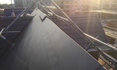 川崎市の屋根カバー工法リフォーム