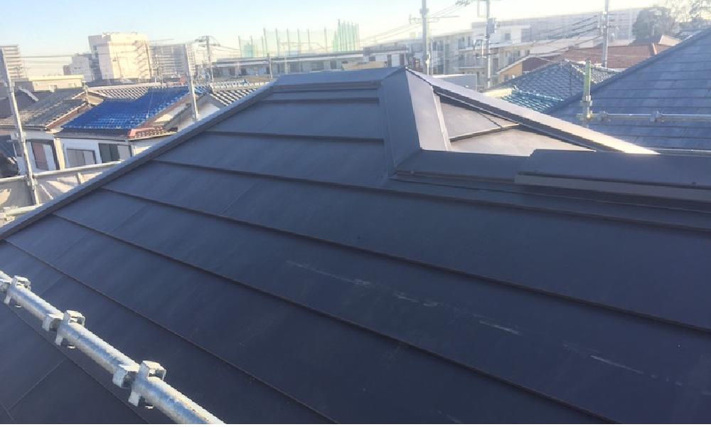 草加市の屋根カバー工法リフォーム