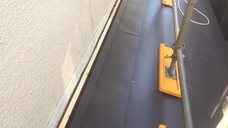 屋根材本体の設置