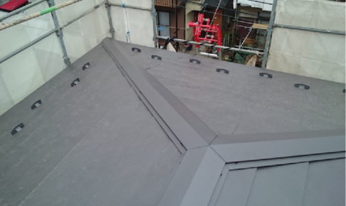 横浜市の屋根の葺き替え工事