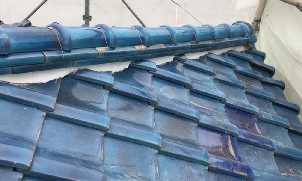 横浜市の棟の取り直し工事