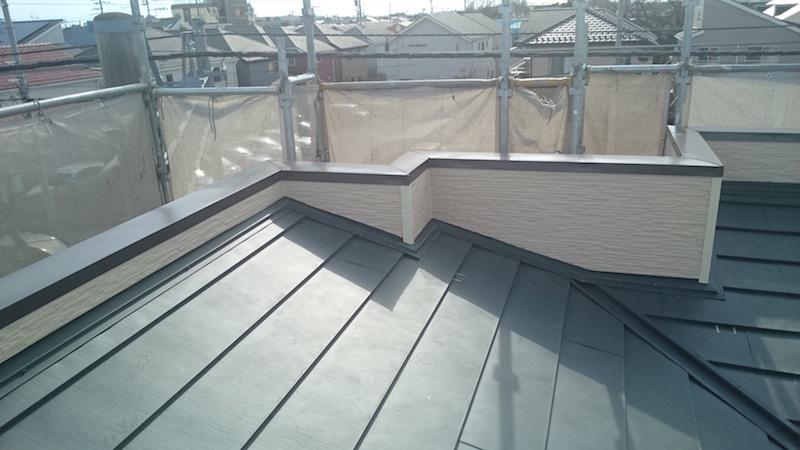 屋根カバー工法リフォーム施工完了
