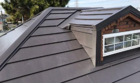成田市の屋根カバー工法