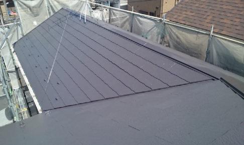 小平市の屋根塗装工事