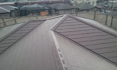 西東京市のスレート屋根塗装