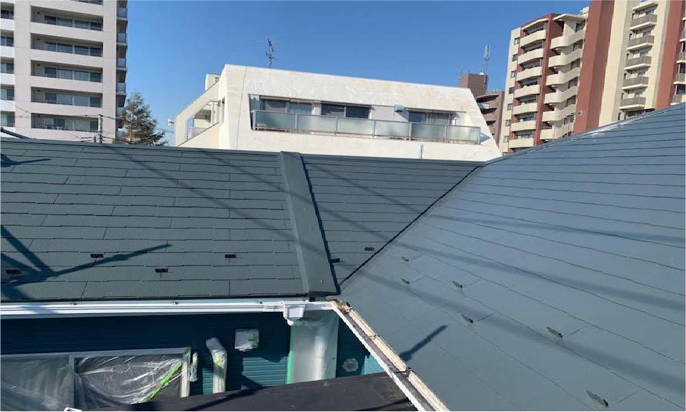 大田区の外壁屋根塗装工事のビフォーアフター