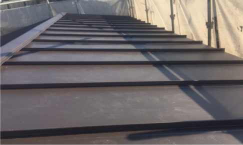 富士見市の屋根葺き替え工事