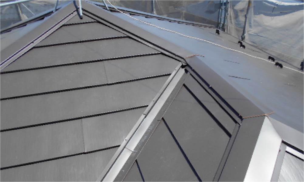 鎌倉市の屋根葺き替え工事