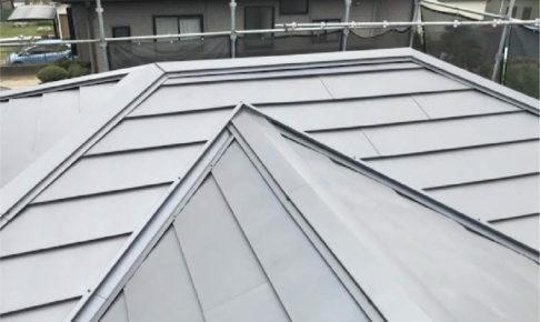 春日部市の屋根葺き替え工事