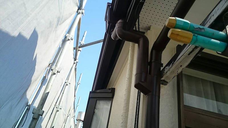 雨樋の交換工事