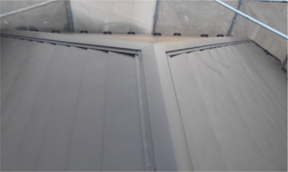 三鷹市の屋根カバー工法