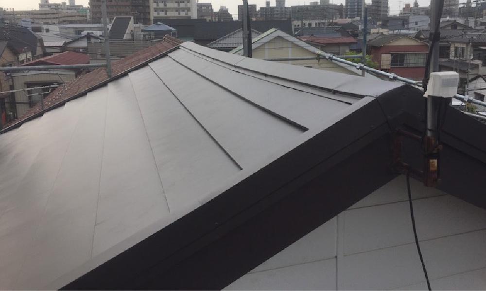 蕨市の屋根カバー工法リフォーム