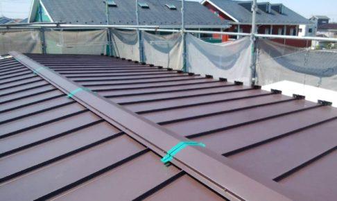 トタン屋根のカバー工法