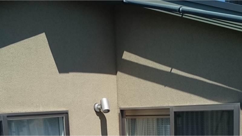 チョーキング現象が発生した外壁
