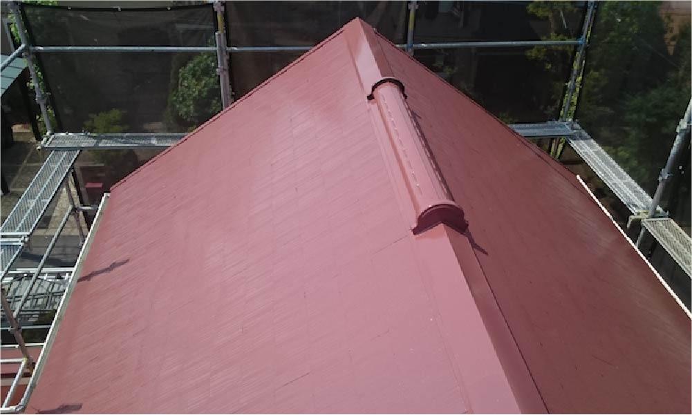 八千代市の屋根塗装工事