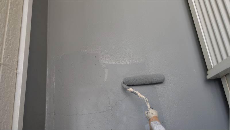 ウレタン防水塗装2回目