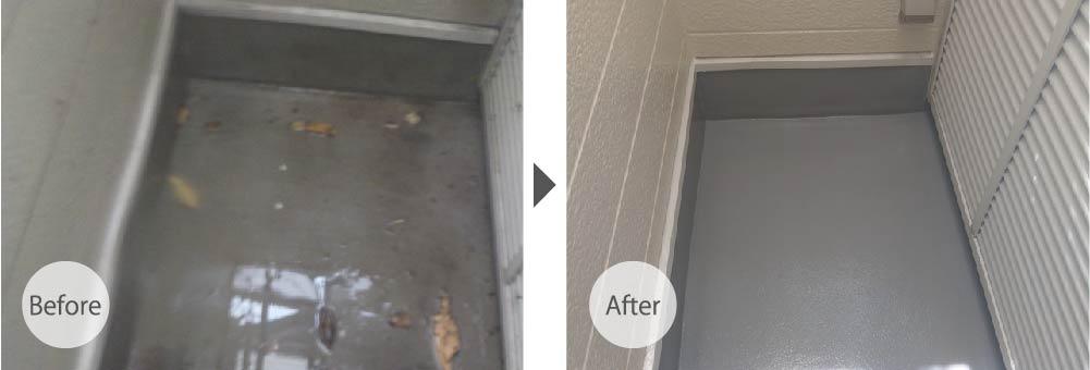 横浜市の屋根カバー工法のビフォーアフター