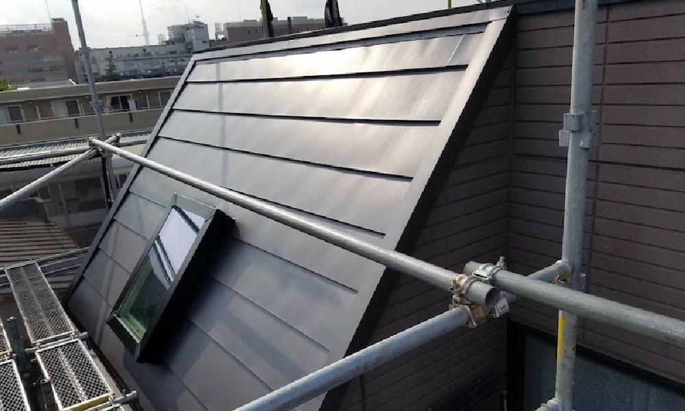 江戸川区のトップライトの雨漏り修理