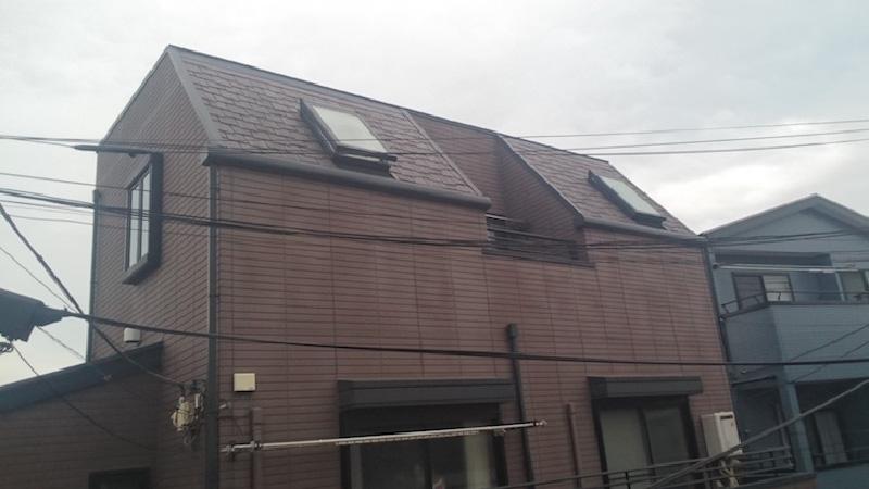 江戸川区のトップライトの施工前の様子