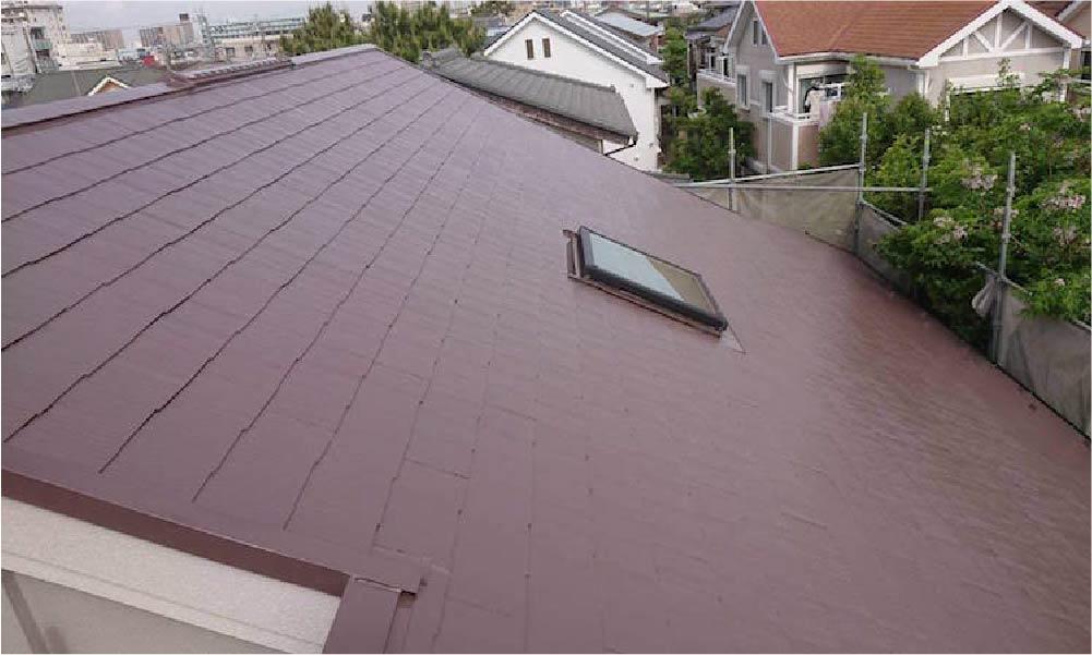 東京都江戸川区の屋根塗装