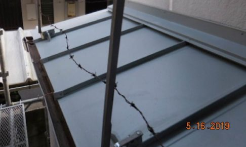 柏市の屋根葺き替え工事の施工事例