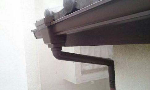葛飾区の雨樋交換工事