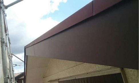 松戸市の破風板板金工事