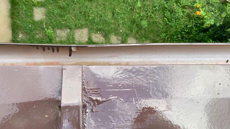 トタン瓦棒の補修