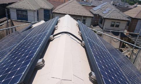 八潮市の屋根塗装工事