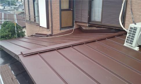埼玉県川口の屋根葺き替え工事