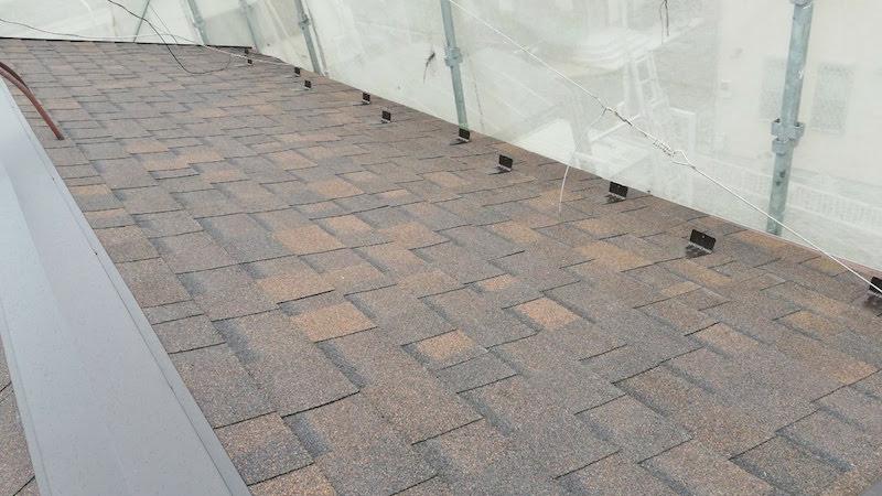 越谷市の屋根の葺きかえ工事の施工後の様子