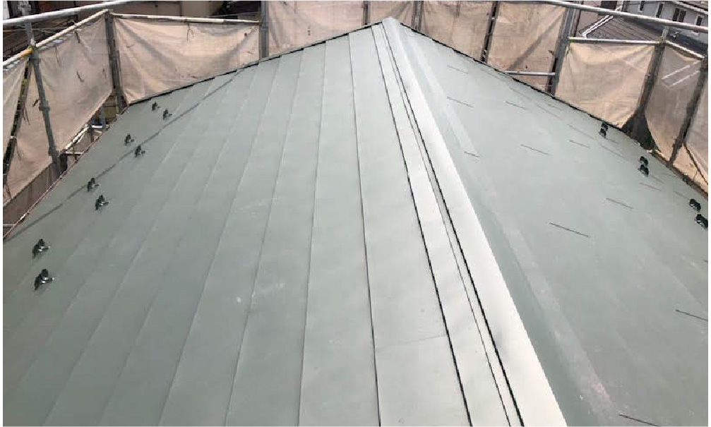 埼玉県越谷市の屋根葺き替え工事