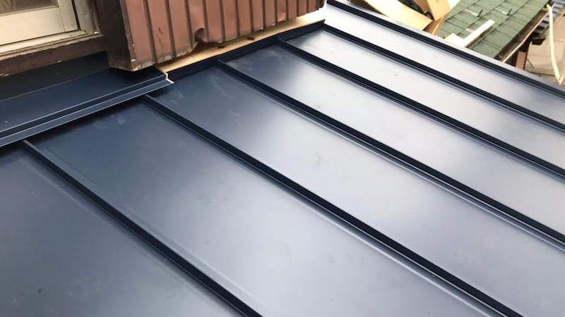 屋根板金の施工